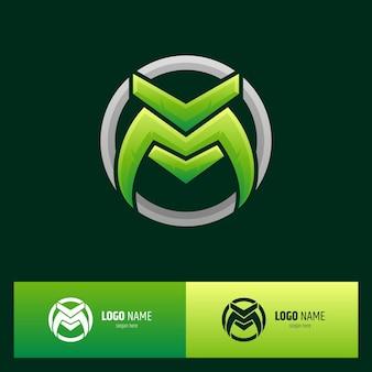 Logotipo da letra inicial m