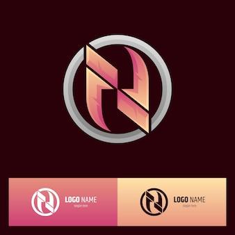 Logotipo da letra inicial n