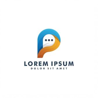 Logotipo da letra p