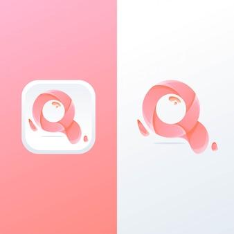 Logotipo da letra q