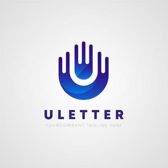 Logotipo da letra u