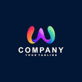 Logotipo da letra w