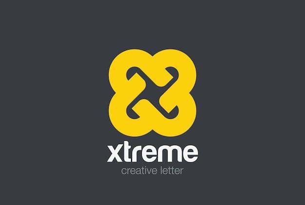 Logotipo da letra x.