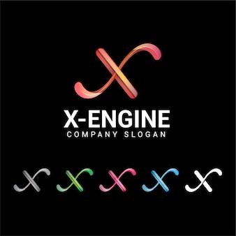 Logotipo da letra x