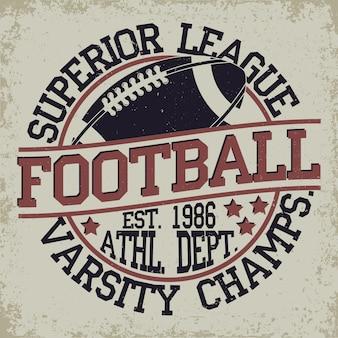 Logotipo da liga de futebol