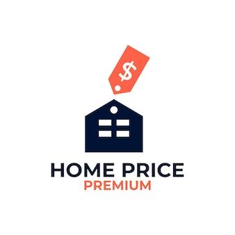 Logotipo da lista de preços para casa