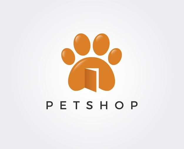 Logotipo da loja de animais