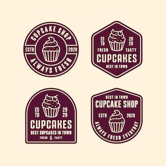Logotipo da loja de cupcakes