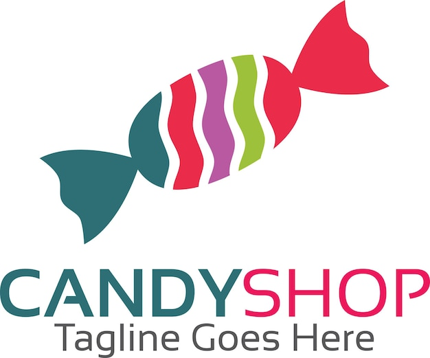 Logotipo da loja de doces