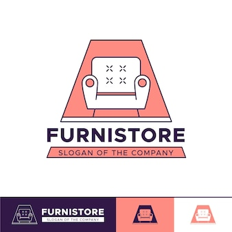Logotipo da loja de móveis