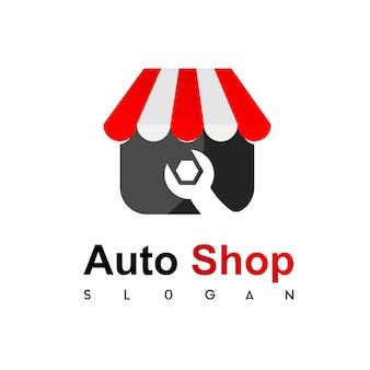 Logotipo da loja de técnicos