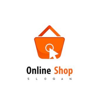 Logotipo da loja online
