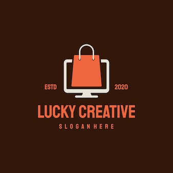 Logotipo da loja online.