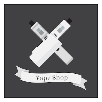 Logotipo da loja vape