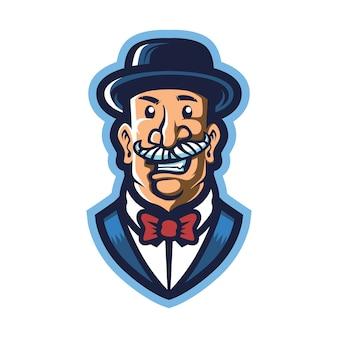 Logotipo da mafia boss esport