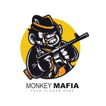 Logotipo da máfia do macaco