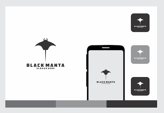 Logotipo da manta negra