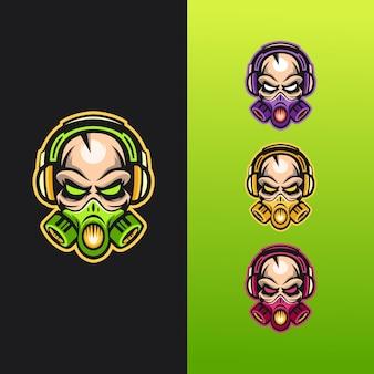 Logotipo da máscara de caveira