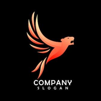 Logotipo da mascote 3d