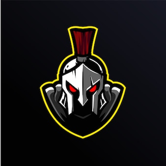 Logotipo da mascote de bola de fogo
