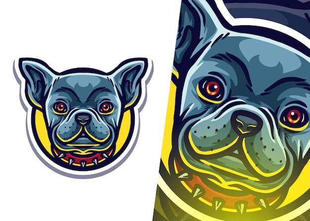 Logotipo da mascote do cãozinho