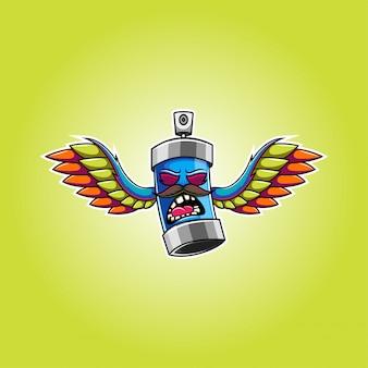 Logotipo da mascote do pilox esport