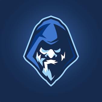 Logotipo da mascote wizard