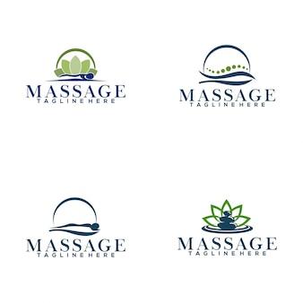 Logotipo da massagem
