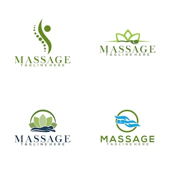 Logotipo da massagem