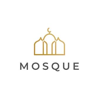 Logotipo da mesquita monoline
