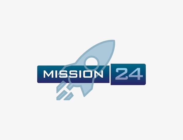 Logotipo da missão 24 tecnologia e pesquisa