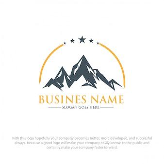 Logotipo da montanha