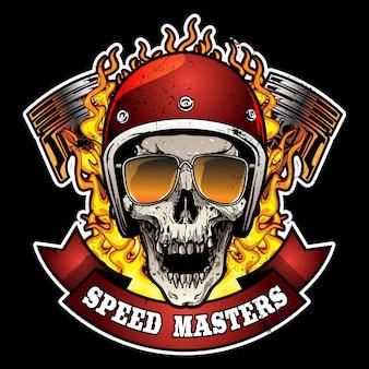 Logotipo da motocicleta vintage