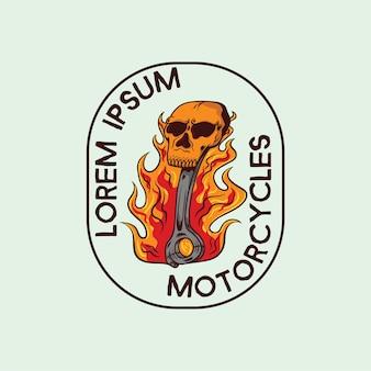 Logotipo da motocicleta