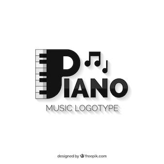 Logotipo da música moderna