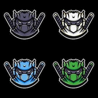 Logotipo da ninja esport.