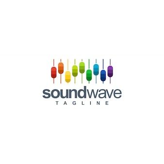 Logotipo da onda sonora