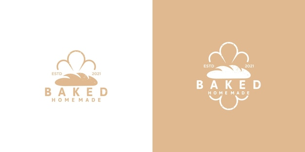 Logotipo da padaria para referência da empresa, vetor premium