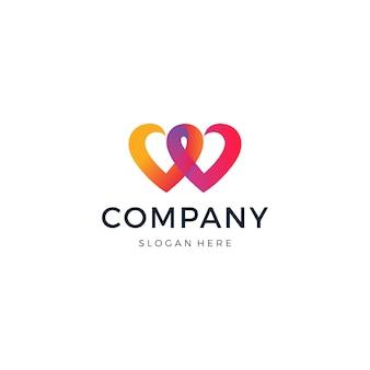 Logotipo da partida de amor