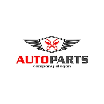 Logotipo da peça automotiva