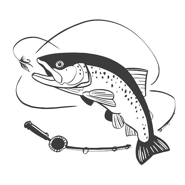 Logotipo da pesca