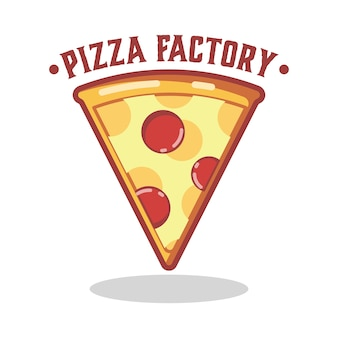 Logotipo da pizza