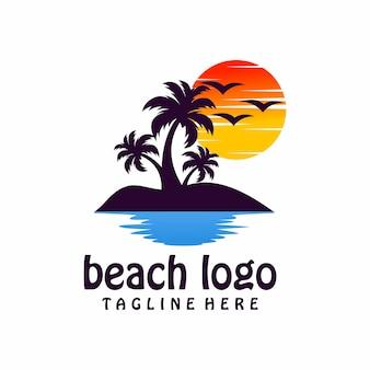 Logotipo da praia