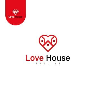Logotipo da propriedade da casa