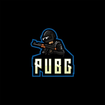 Logotipo da pubg. logotipo de jogo battlegrounds