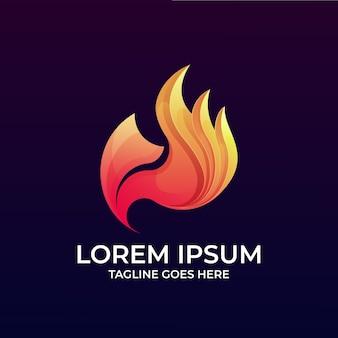 Logotipo da raposa fogo