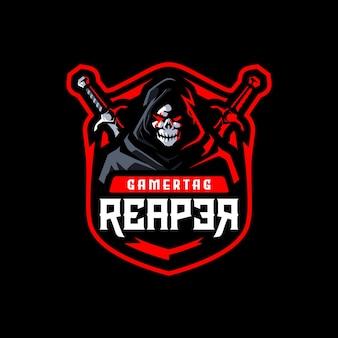 Logotipo da reaper esport