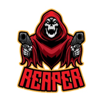 Logotipo da red reaper esport