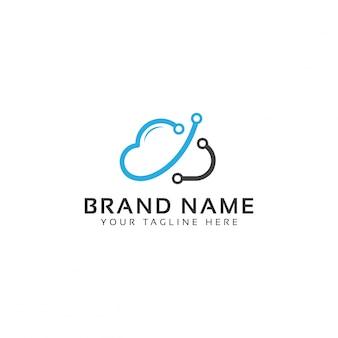 Logotipo da rede cloud