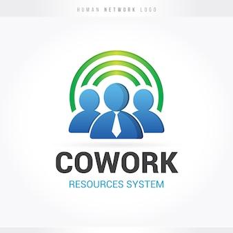 Logotipo da rede de recursos humanos